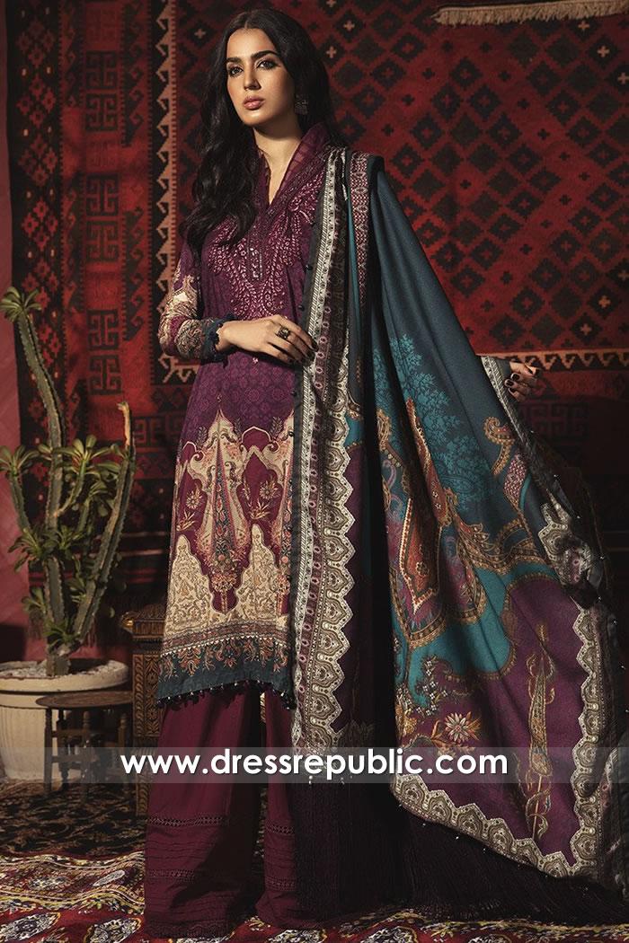 DRP1843 Maria B Lawn Suits Wholesale Complete Sets Stitched Unstitched USA