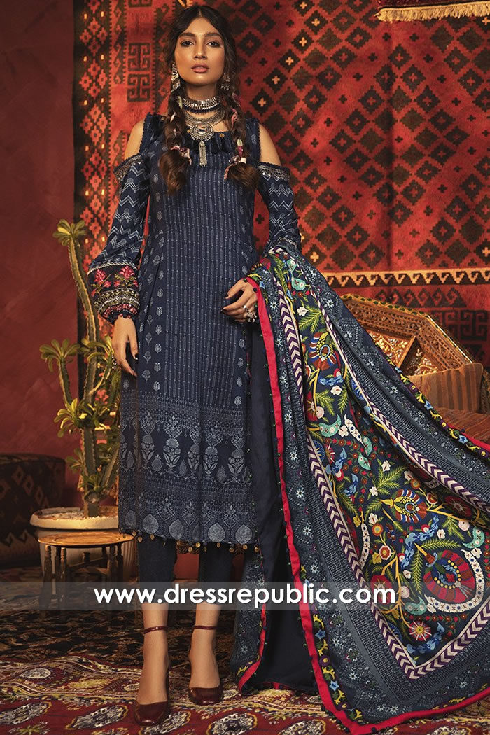 DRP1844 Maria B Lawn Suits Wholesale Complete Sets Stitched Unstitched UK
