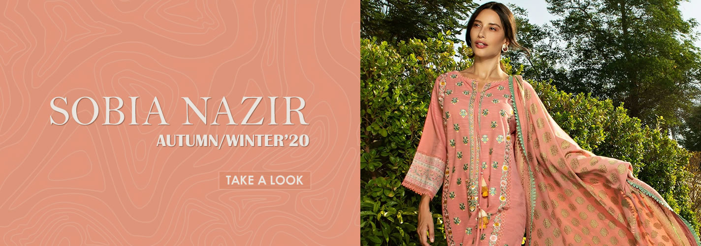 Sobia Nazir Autumn Winter 2020 Collection
