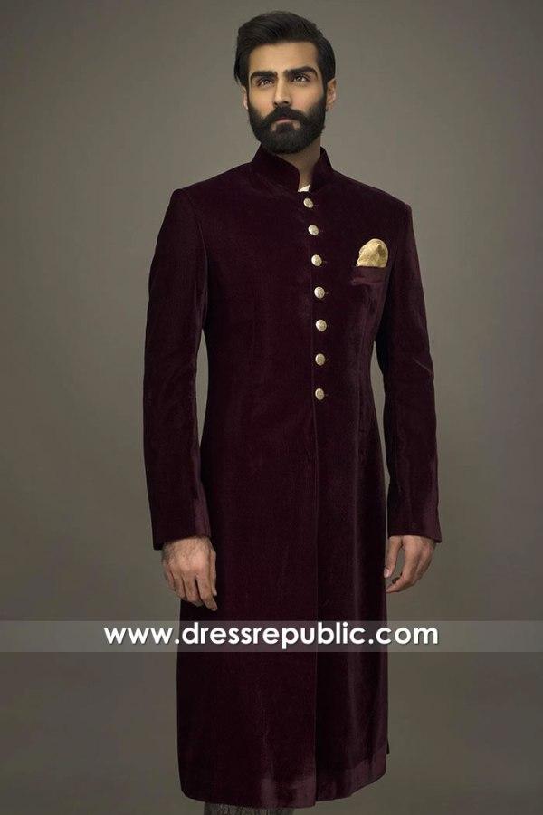 DRM5534 Designer Sherwani 2020 Buy in London, Manchester, Birmingham, UK