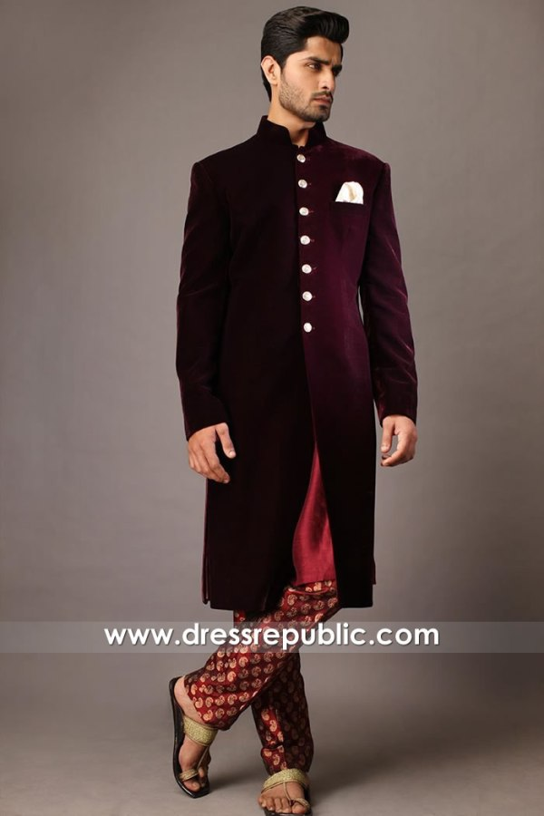 DRM5535 Designer Sherwani 2020 Buy in Glasgow, Aberdeen, Edinburgh, Scotland