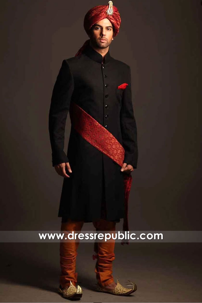 DRM5551 HSY Wedding Sherwani 2020 2021 Collection London, Manchester, UK