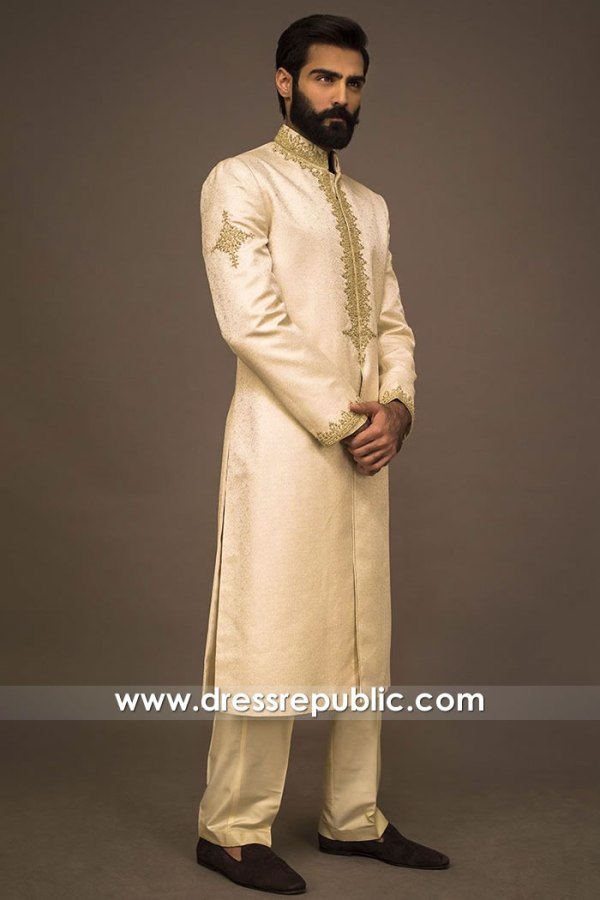 DRM5578 Indian Sherwani Bandhgala Jodhpuri in Hicksville, Jackson Heights, NY