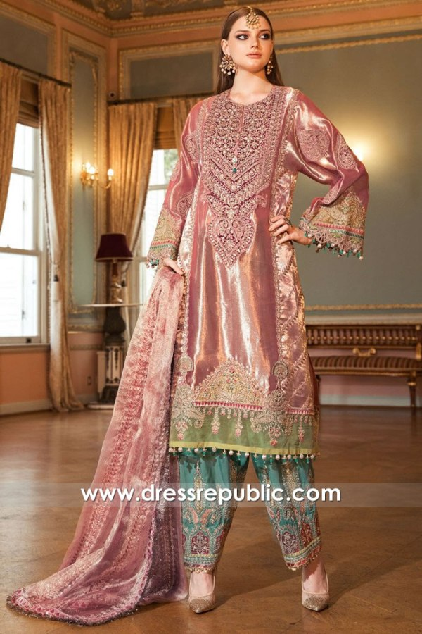 DRP2020 Maria B Mbroidered Winter 20 Collection With Stitching Price Online Shop