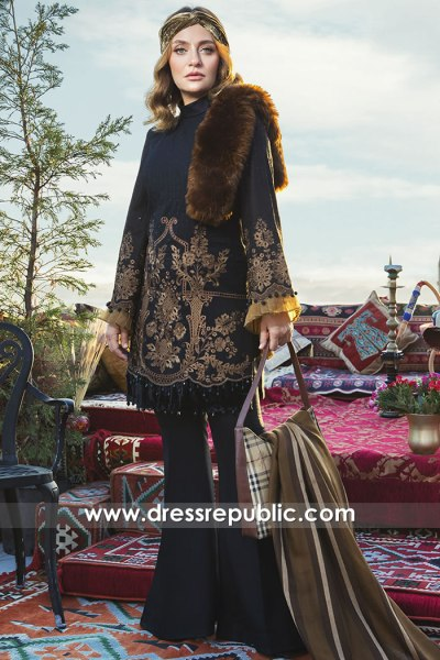 DRP2054 Maria B Linen Winter 20 Buy in Toronto, Mississauga, Vancouver, Canada
