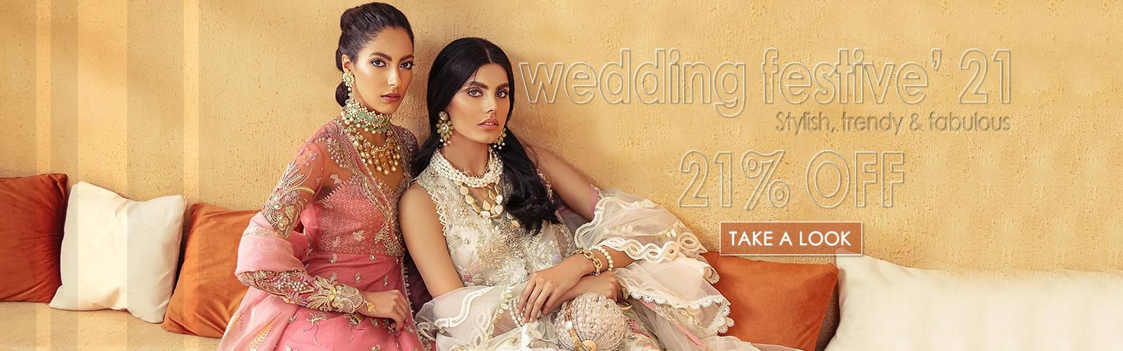 Freeshia Wedding Festive 2021 Collection