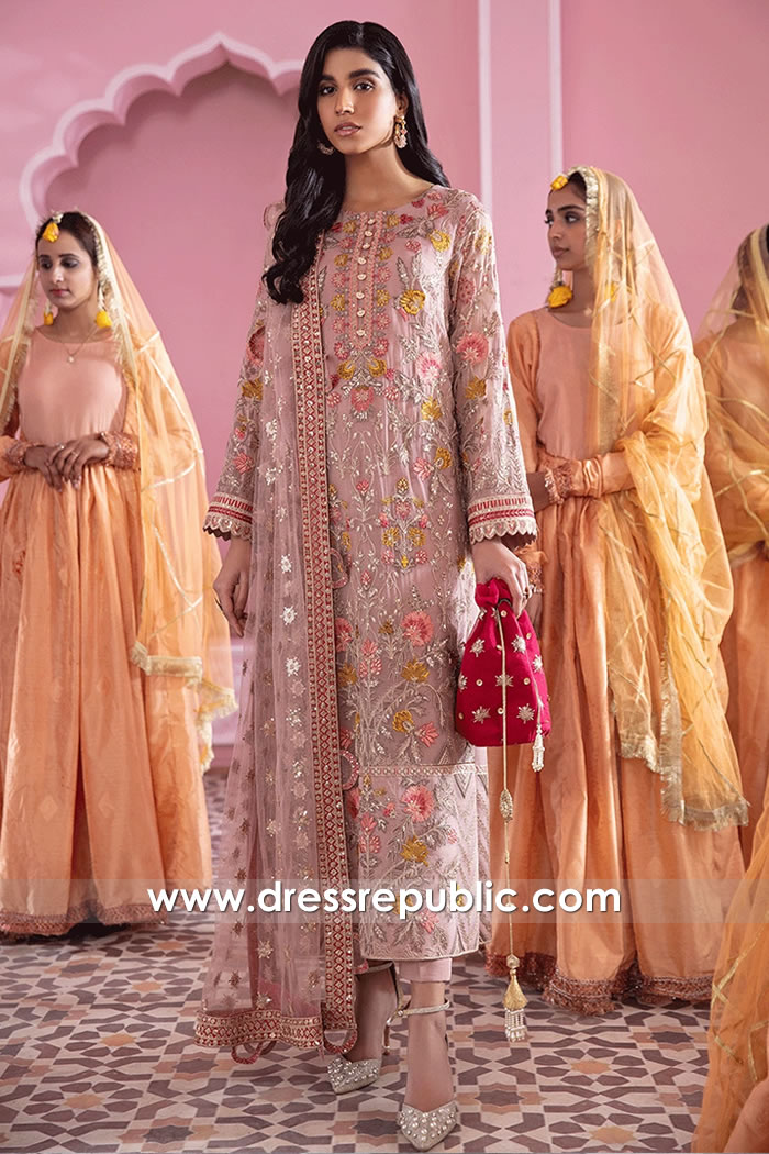 DRP2104 Iznik Banaras Chiffon Karachi, Lahore, Islamabad, Faisalabad, Pakistan