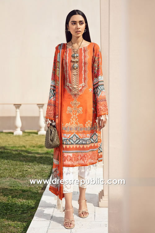 DRP2150 Gulaal Lawn 2021 With Stitching Price Buy in UK, USA, Canada, Australia