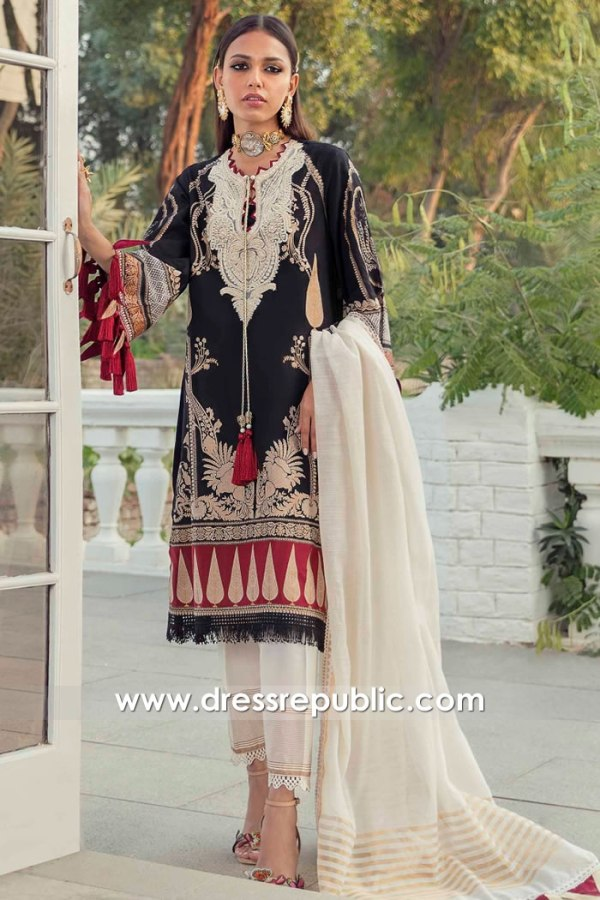 DRP2225 Sana Safinaz Lawn Spring 2021 Collection Buy Online in USA, Canada