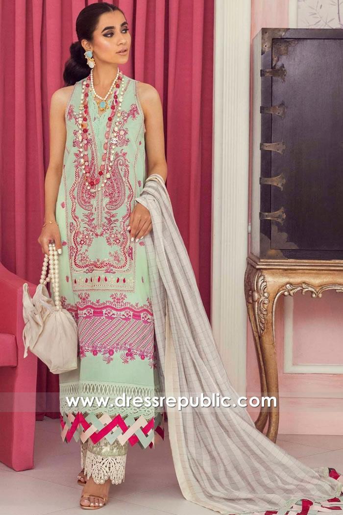 DRP2243 Pakistani Lawn Suits Online Canada | Salwar Kameez Prints 2021 Canada