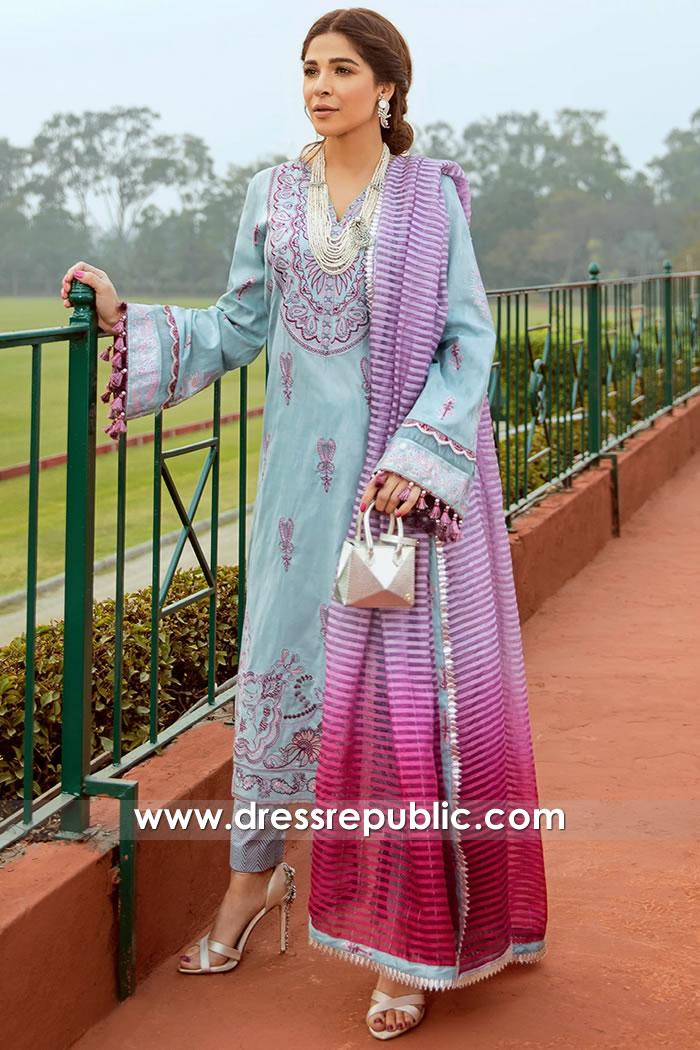 DRP2250 Saira Rizwan Lawn 2021 USA | Saira Rizwan Lawn New York, New Jersey