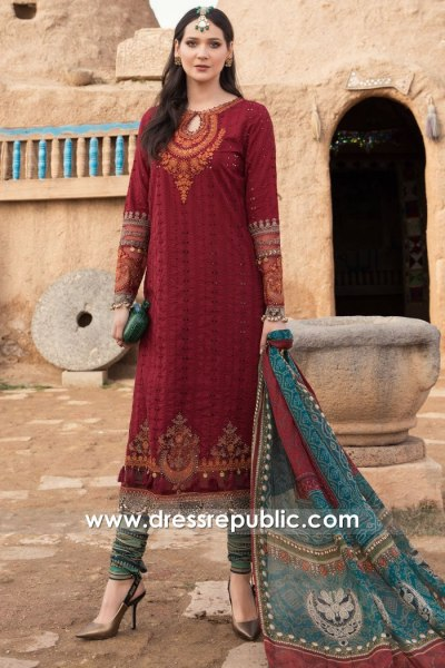 DRP2300 Maria B Lawn 2021 Collection With Stitching Price in UK, USA, Canada