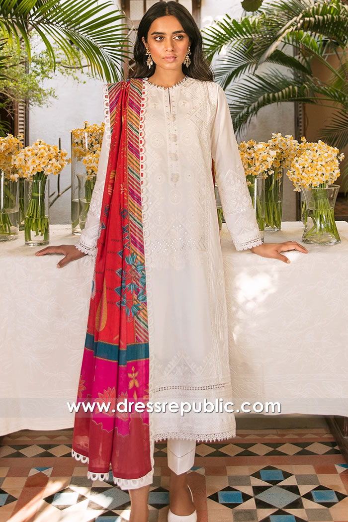 DRP2331 Zaha Lawn 2021 Collection Wholesale Set Price Buy Online in Pakistan