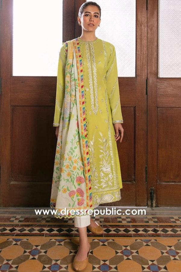 DRP2337 Pakistani Lawn Suits for Ramadan 2021, Buy Cotton Prints for Ramadan