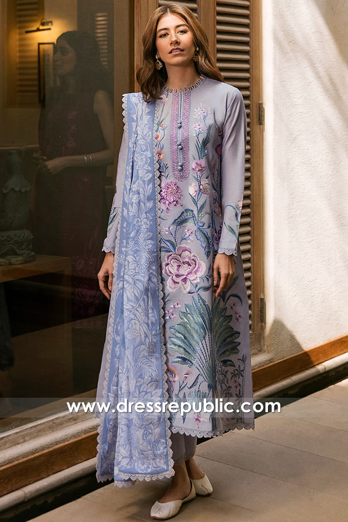 DRP2344 Pakistani Lawn Shops in London, Manchester, Birmingham, Leeds, UK