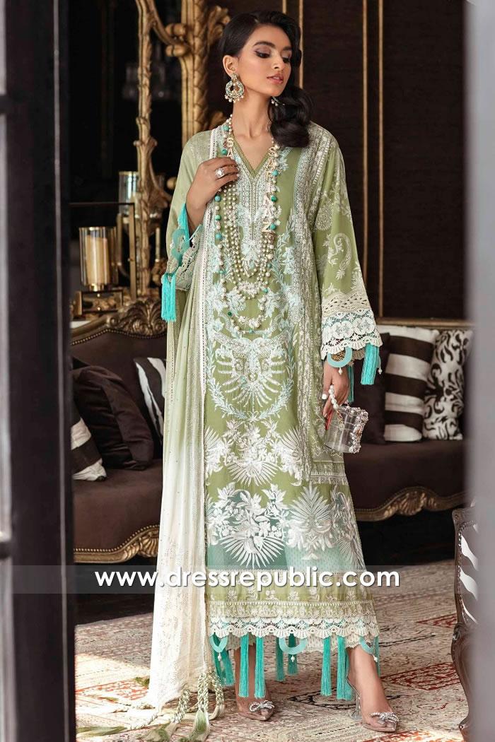 DRP2382 Sana Safinaz Eid Lawn 2021 USA Buy Online in California, Ohio, Colorado