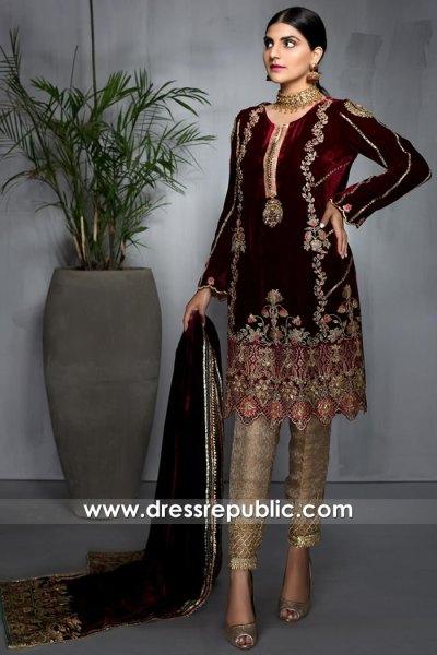 DR16019 Designer Salwar Kameez Suits for Wedding Party Online California, USA