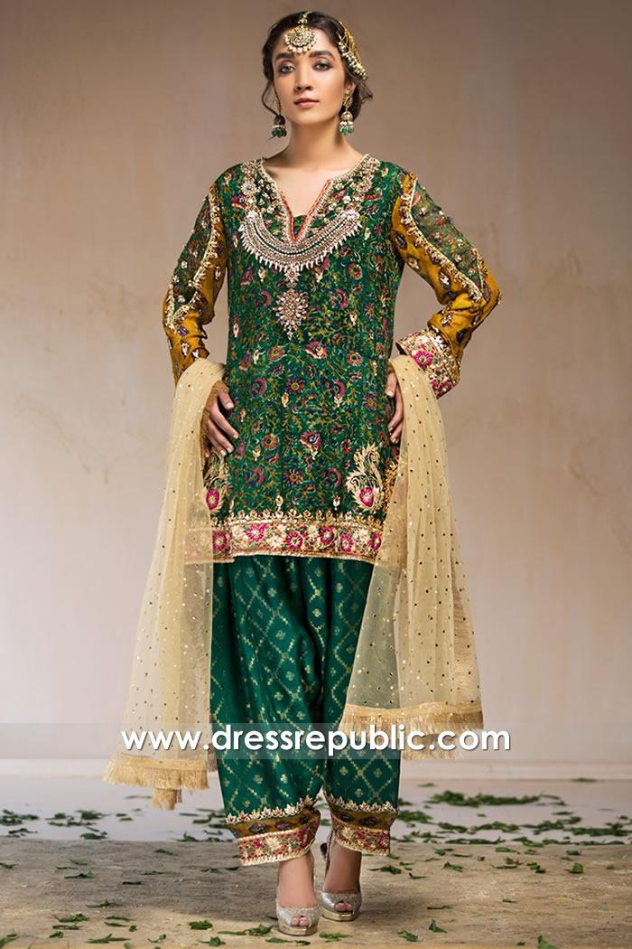 DR16036 Designer Shalwar Kameez 2021 England, Scotland, Ireland, Wales, UK