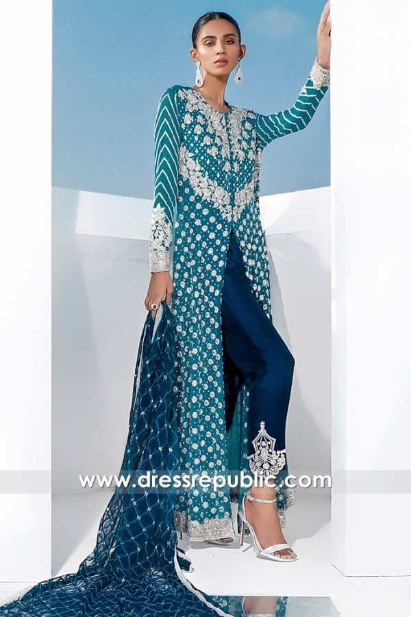 DR16061 Wedding Guest Pakistani Dress 2021 Online in Sydney, Perth, Australia