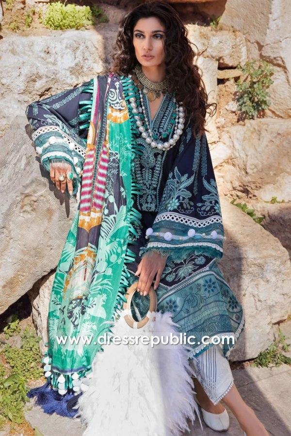 DRP2587 Republic Selene Lawn 21 Online Karachi, Lahore, Islamabad, Pakistan