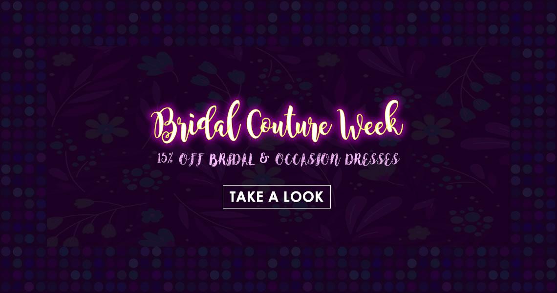 Bridal Couture Week May 21