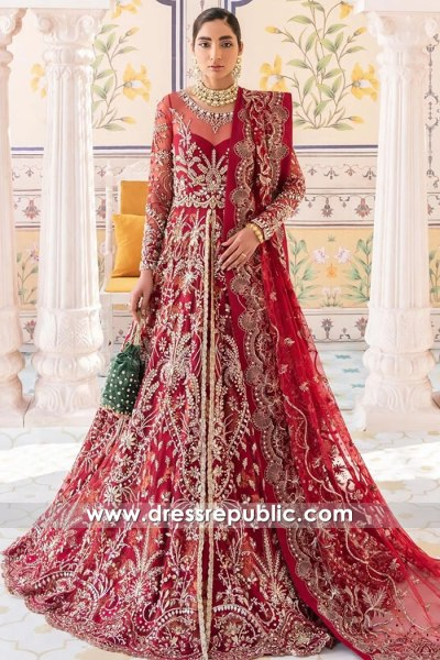 DR16129 Red Bridal Dresses 2021 Collection Online USA, Canada, UK, Australia