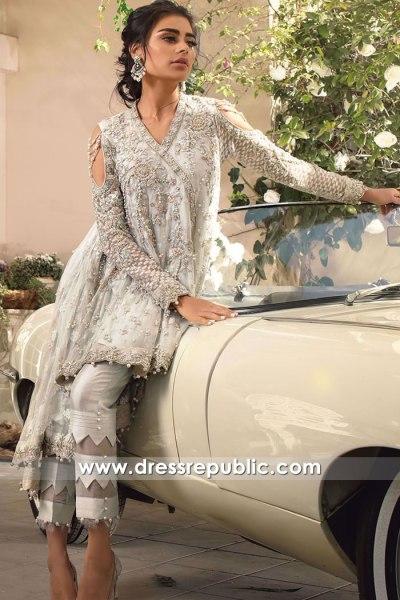 DR16148 Pakistani Designer Wedding Guest Dresses 2022 Collection Online USA