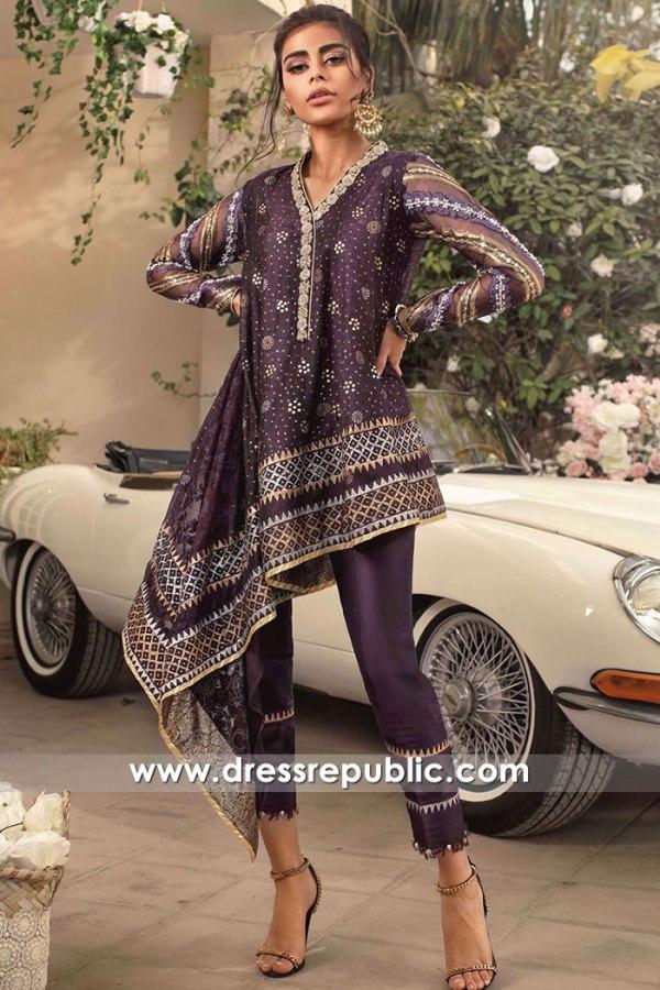 DR16150 Pakistani Designer Party Wear Dresses 2022 Collection Online UK