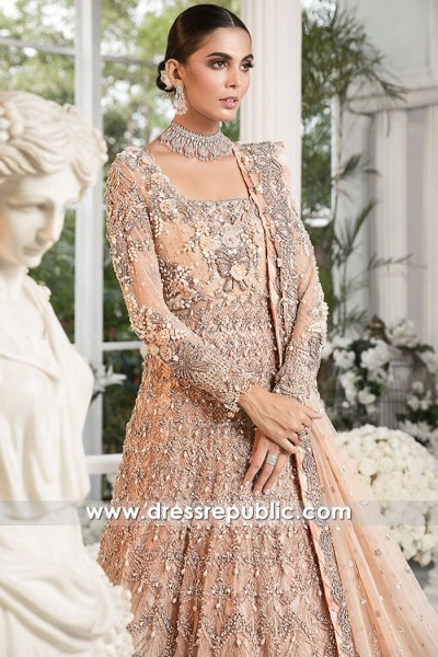 DR16178 Pakistani Designer Dresses for Winter 2021 Wedding Buy Online UK