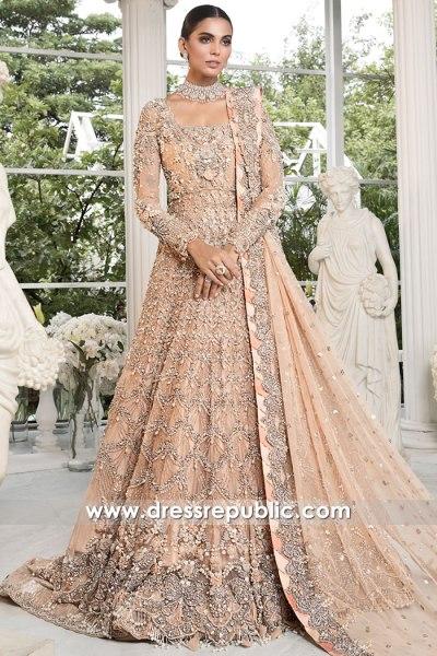DR16178b Pakistani Designer Dresses for Winter 2021 Wedding Buy Online UK