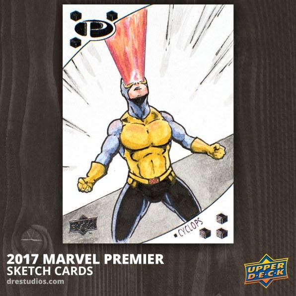 Cyclops - Marvel Premier 2017 Sketch Card