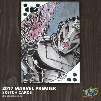 Ultron - Marvel Premier 2017 Sketch Card