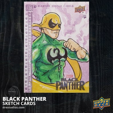 andrei-ausch-black-panther-sketch-card-iron-fist