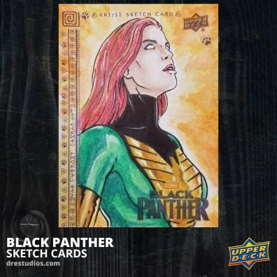 Phoenix Sketch Card