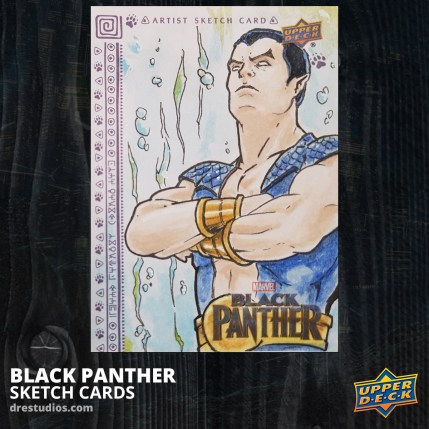 andrei-ausch-black-panther-sketch-card-namor