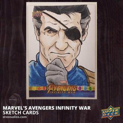 2018-upper-deck-avengers-infinity-war-sketch-card-andrei-ausch-nick-fury-shield