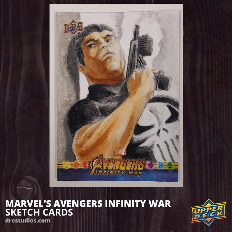 2018-upper-deck-avengers-infinity-war-sketch-card-andrei-ausch-the-punisher