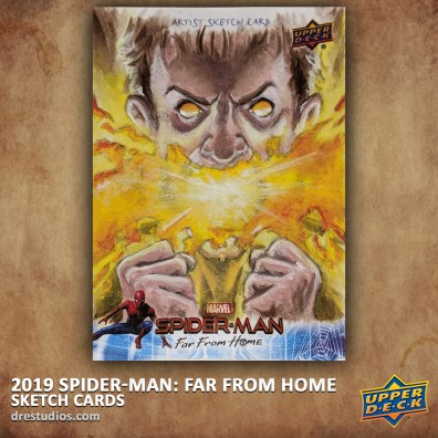 upper-deck-spider-man-far-from-home-trading-sketch-card-andrei-ausch-chamber