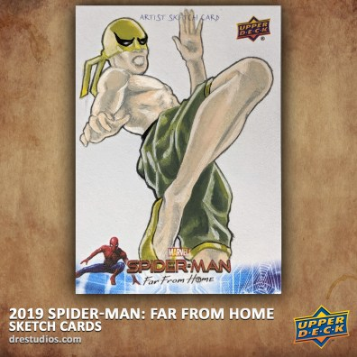 upper-deck-spider-man-far-from-home-trading-sketch-card-andrei-ausch-iron-first