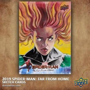 upper-deck-spider-man-far-from-home-trading-sketch-card-andrei-ausch-phoenix