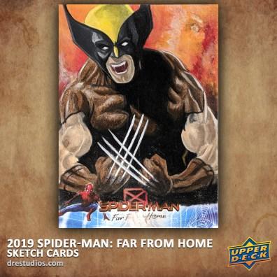 upper-deck-spider-man-far-from-home-trading-sketch-card-andrei-ausch-wolverine