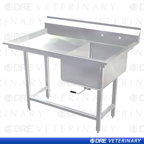 stainless steel utility sink with