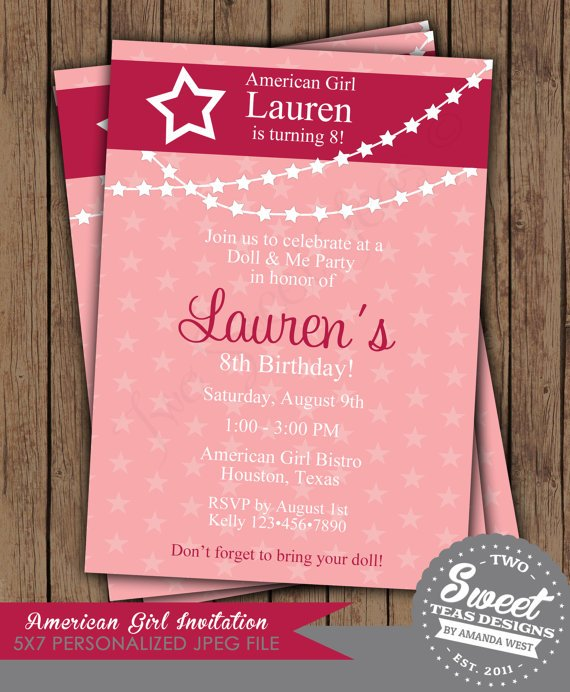 Print Home Birthday Invitations