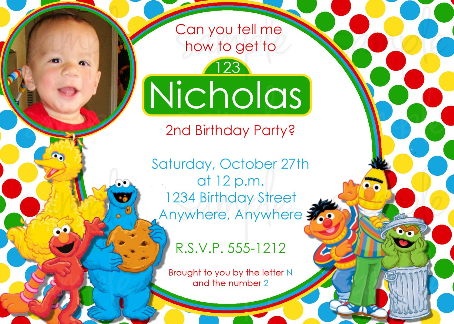 personalized invitation sesame street birthday invitation elmo invitation greeting cards party supply henrikhakansson greeting cards invitations