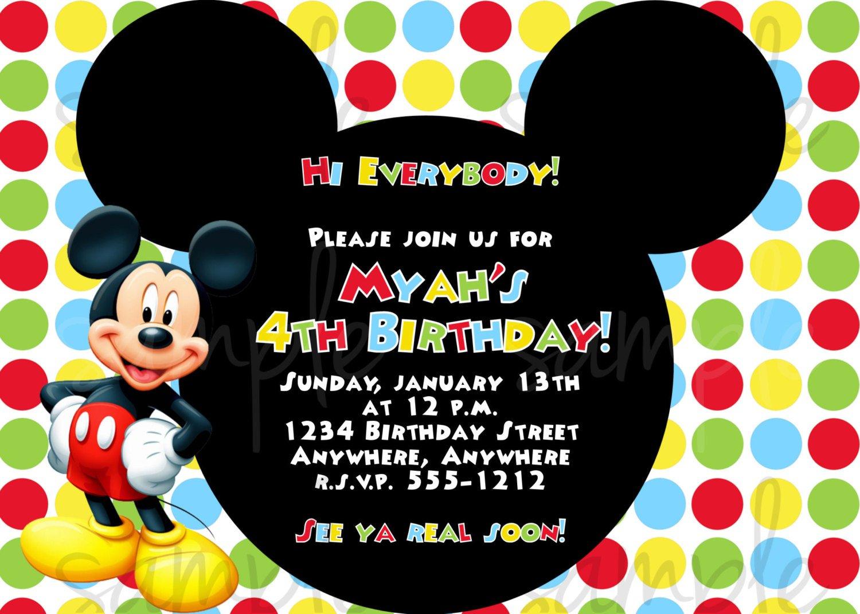 Cute Birthday Party Invitations