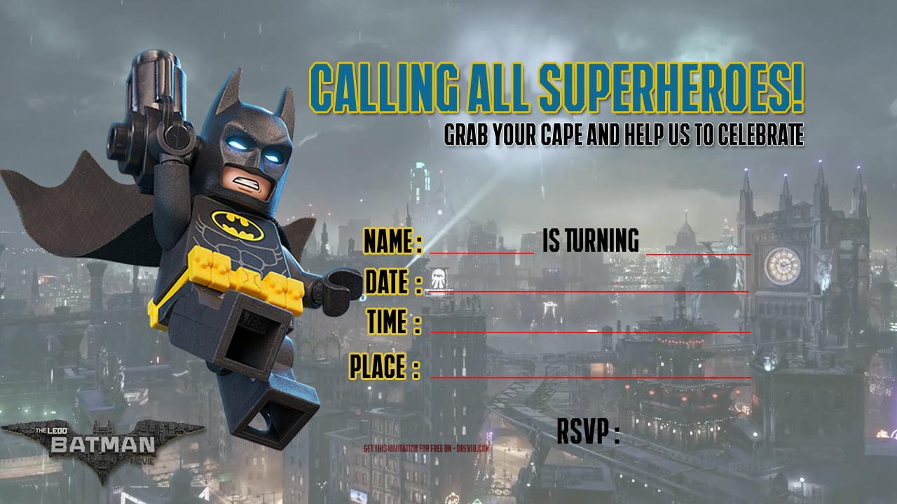 free printable lego batman the movie
