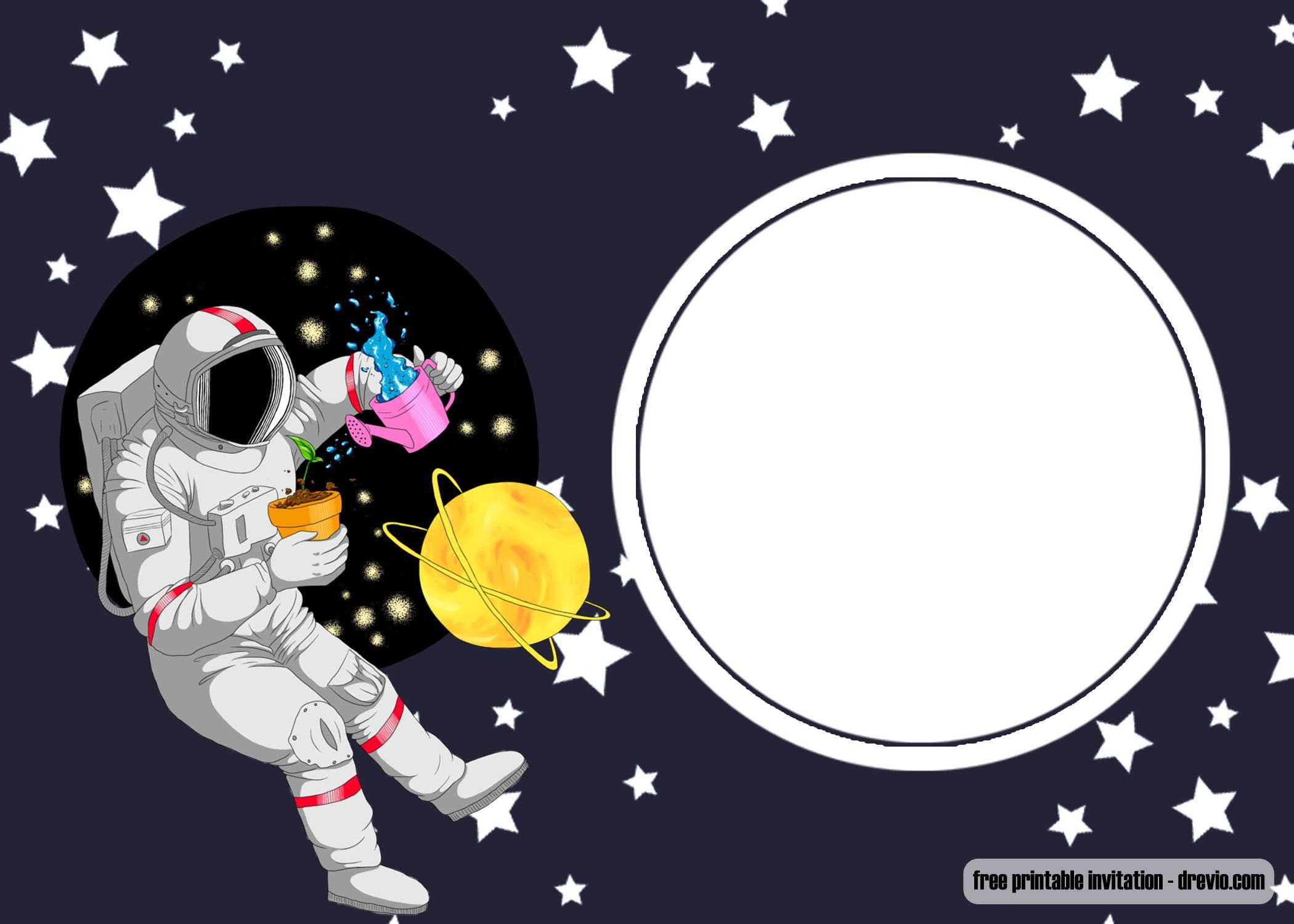 Free Printable Spaceship