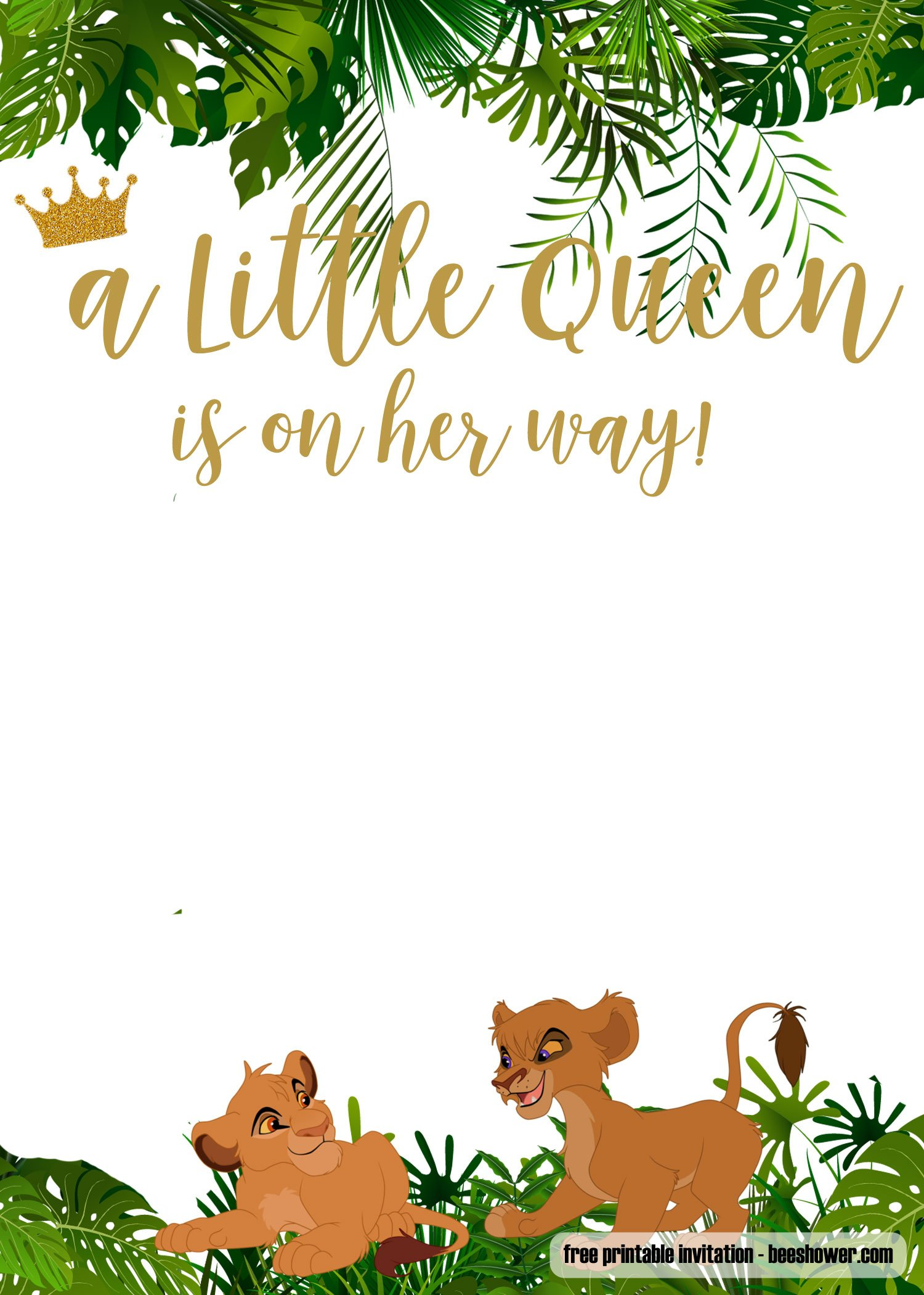 Baby Shower Invitations You Can Edit