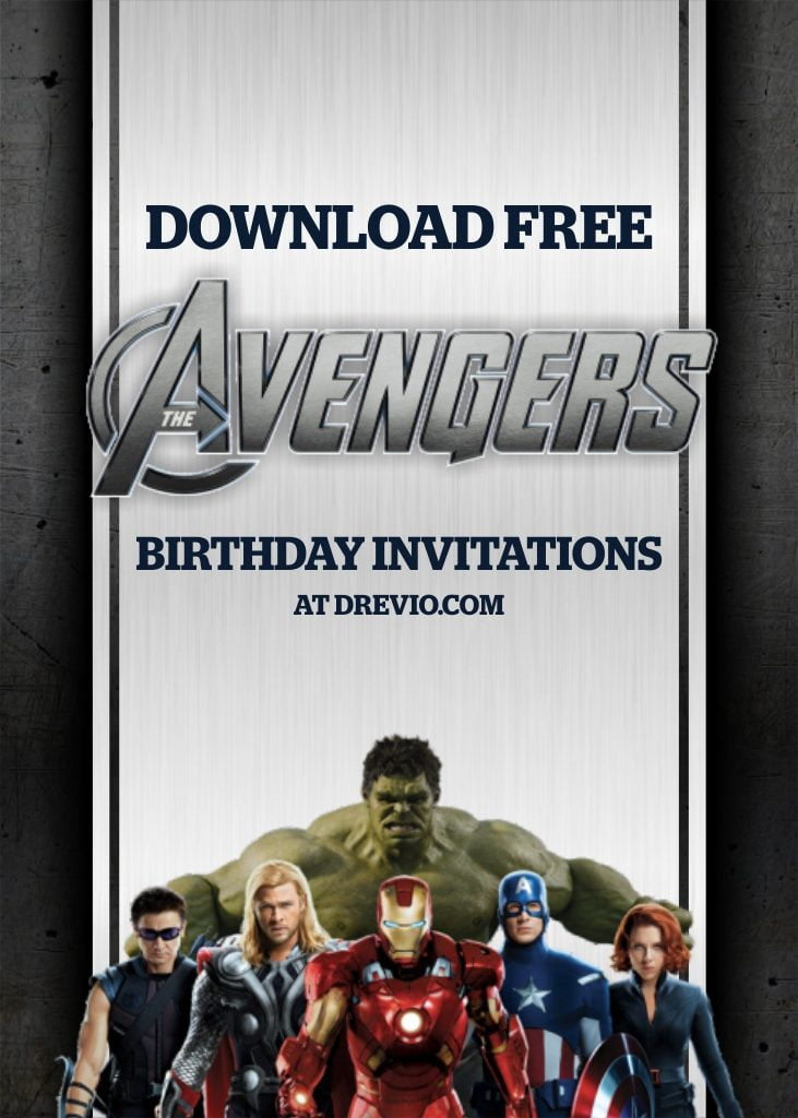 free printable avengers endgame