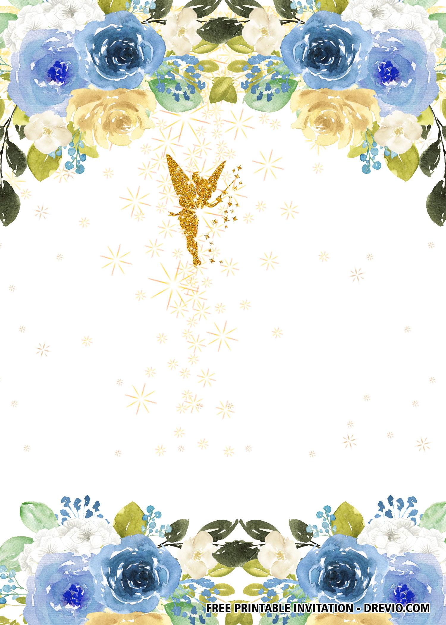 free fairy invitation templates